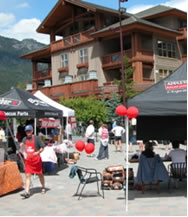 Photo - Barbecue competition at Whistler